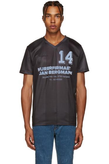 Han Kjobenhavn - Black Football Jersey