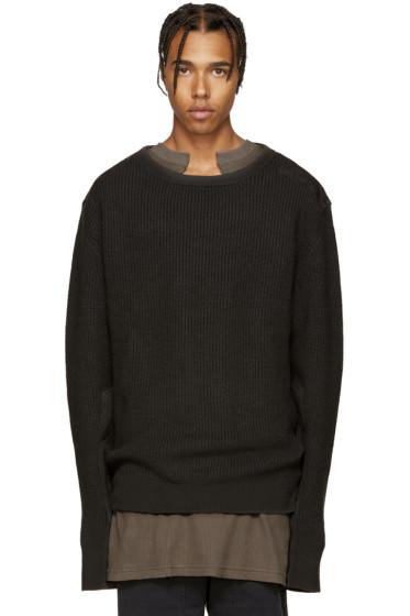 YEEZY Season 1 - Grey Wool Undestroyed Sweater