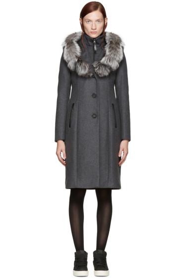 Mackage - Grey Mila Coat