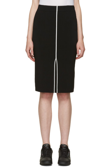 Rag & Bone - Black Lucine Pencil Skirt