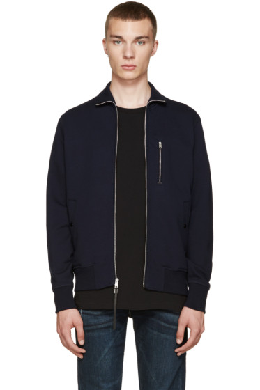 Rag & Bone - Navy Trooper Bomber Jacket