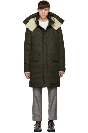 Moncler - Green Down Grafton Parka