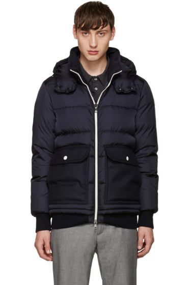 Moncler - Navy Down Rabellais Jacket