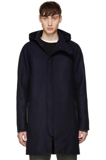 Acne Studios - Navy Wool Milton Coat