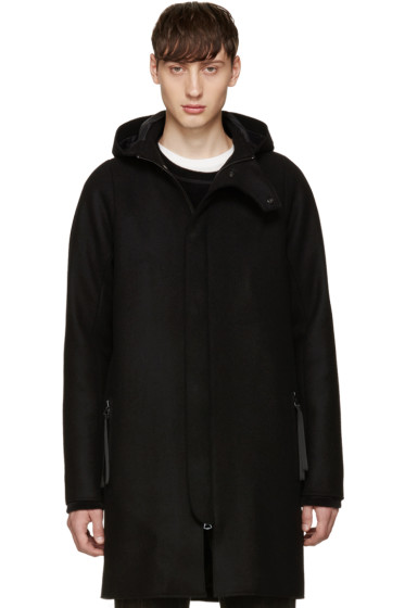 Acne Studios - Black Wool Milton Coat