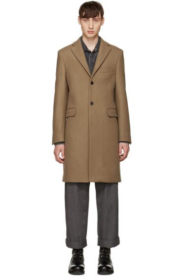 Acne Studios - Tan Wool Garrett Coat