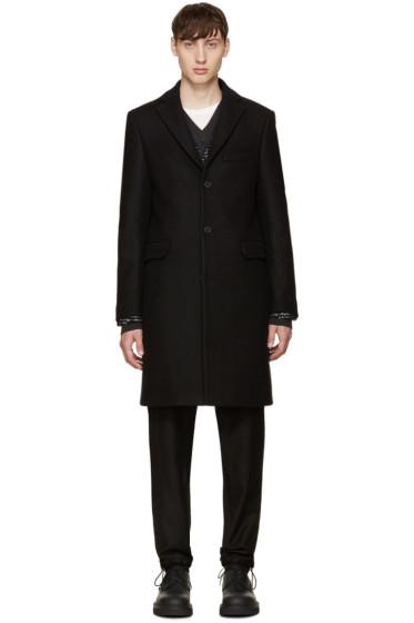 Acne Studios - Black Wool Garrett Coat