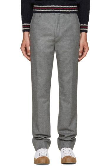 Acne Studios - Grey Pro Trousers