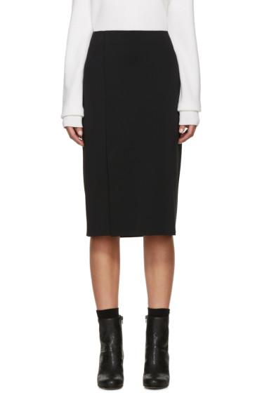 Helmut Lang - Black Neoprene Scura Skirt