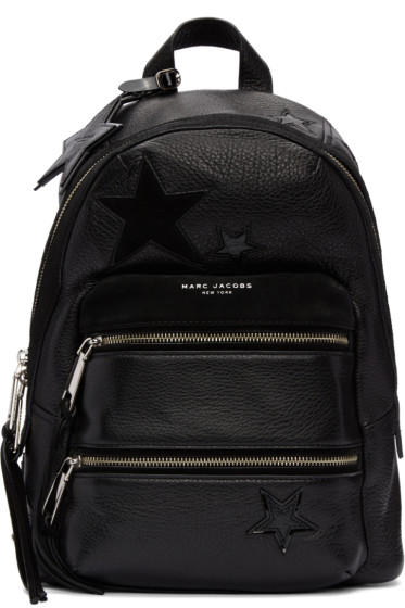 Marc Jacobs - Black Star Patchwork Backpack