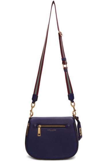 Marc Jacobs - Navy Gotham Saddle Bag