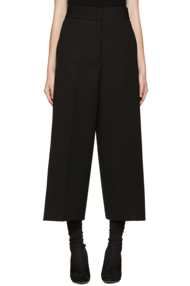 Jil Sander - Black Wool Baldo Trousers