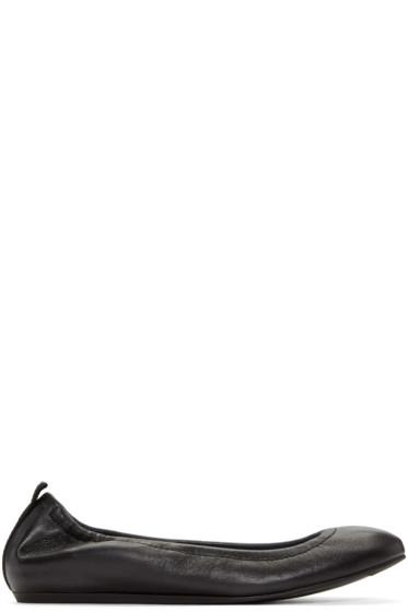Lanvin - Black Iconic Ballerina Flats