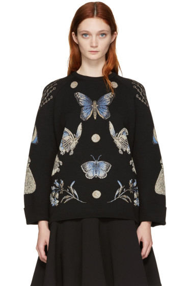 Alexander McQueen - Black Obsession Pullover