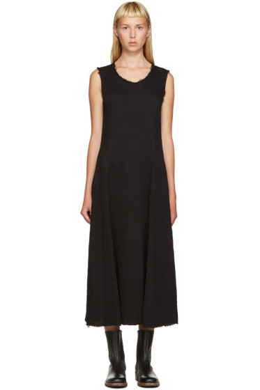 Raquel Allegra - Black Big Sweep Dress