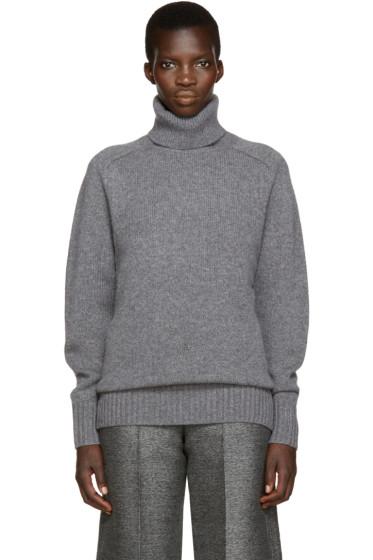 Chloé - Grey Cashmere Turtleneck