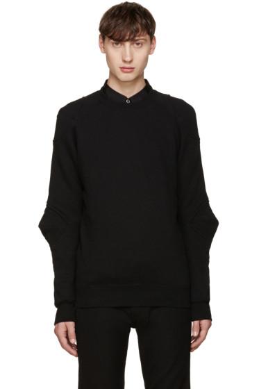Comme des Garçons Homme Plus - Black Cotton Pullover