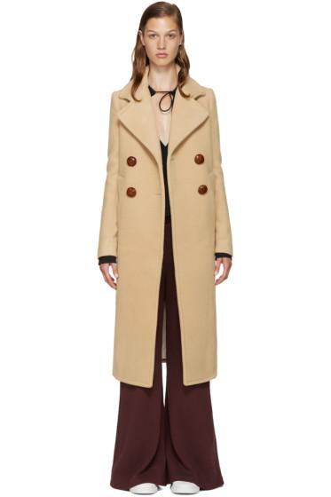 See by Chloé - Beige Wool Long Coat