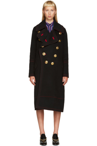 Burberry - Black Military Coat