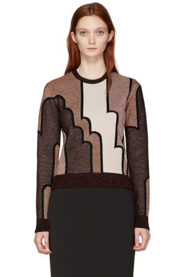 Roksanda - Burgundy Charcot Pullover
