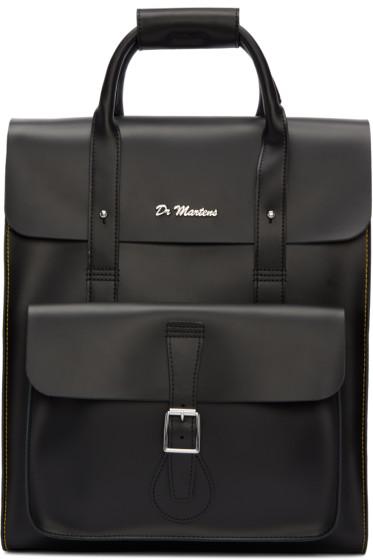 Dr. Martens - Black Leather Backpack
