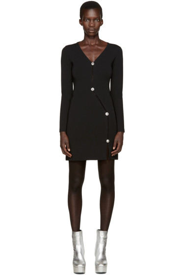 Versus - Black Asymmetric Dress
