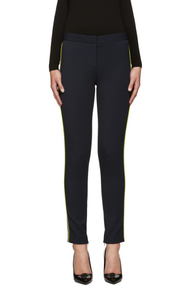 Versace - Navy Side Stripe Trousers