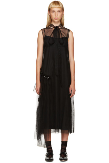 Simone Rocha - Black Sheer Dress
