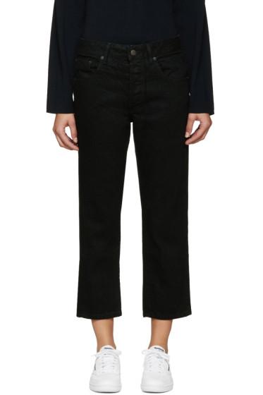 6397 - Black Shorty Jeans