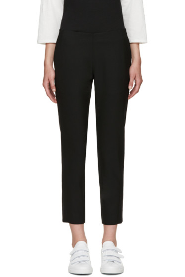 6397 - Black Wool Trousers