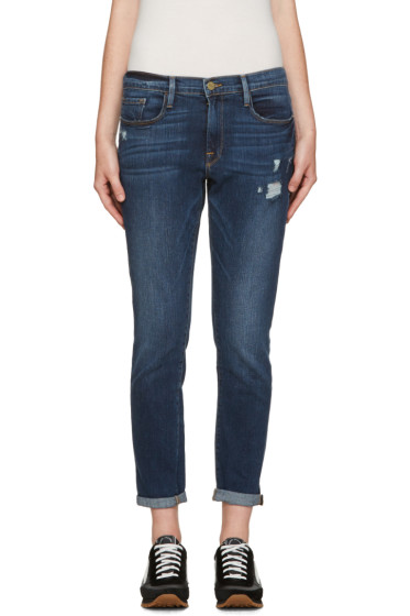 Frame Denim - Blue Le Garçon Jeans