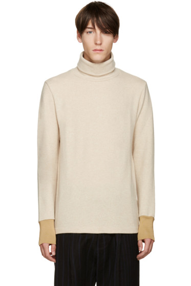 Umit Benan - Beige Wool Turtleneck