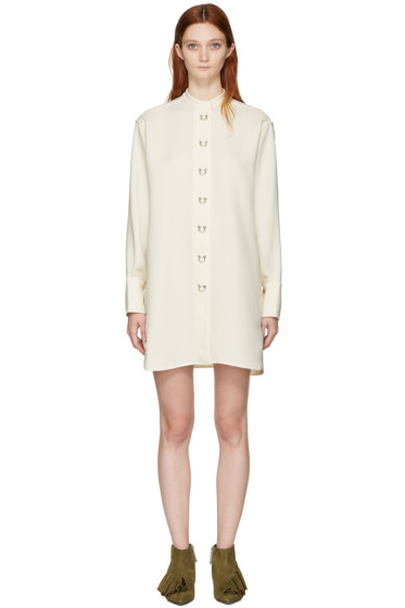J.W.Anderson - Off-White Oversized Ring Dress