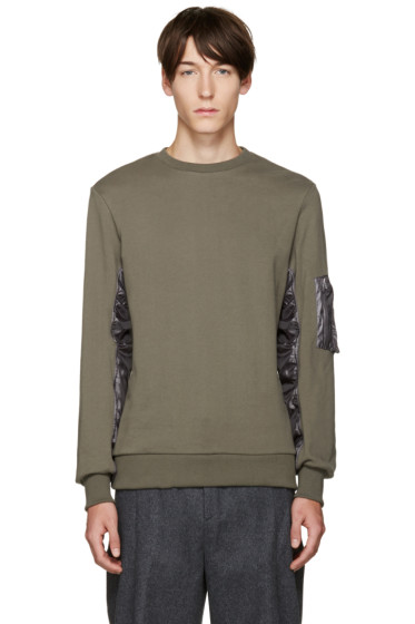 Tim Coppens - Green French Terry Pullover