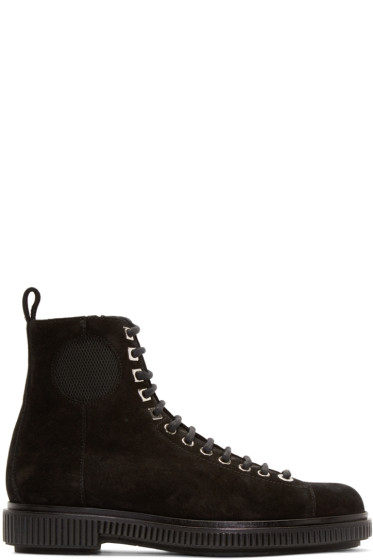 Jimmy Choo - Black Suede Kurt Boots