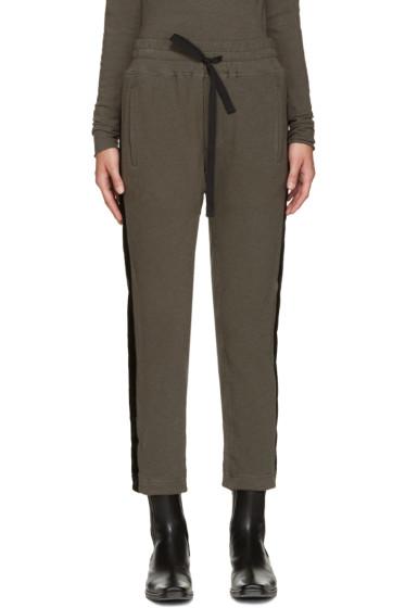 Haider Ackermann - Khaki Duplessis Lounge Pants