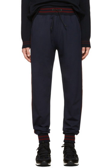 Giuliano Fujiwara - Navy Striped Lounge Pants
