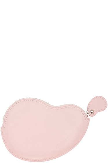 Jacquemus - Pink Leather Coin Pouch