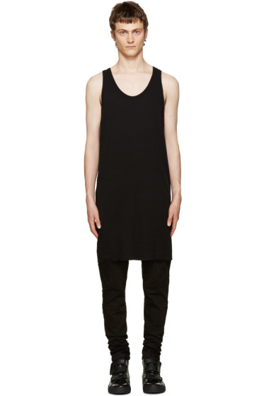 11 by Boris Bidjan Saberi - Black Asymmetric Top