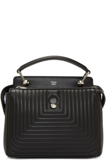 Fendi - Black Quilted Dotcom Click Bag