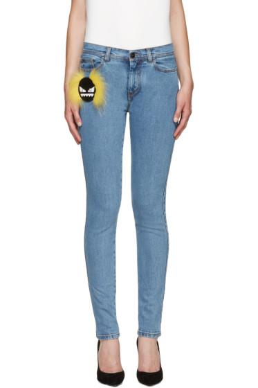 Fendi - Blue Wonder Monster Jeans