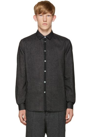 Stephan Schneider - Black Flannel Shirt