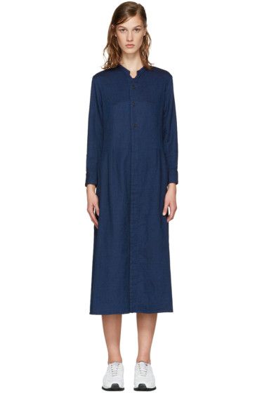 Blue Blue Japan - Indigo Tucked Dress
