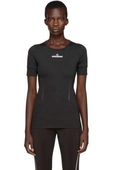 adidas by Stella McCartney - Black Climalite Run T-Shirt