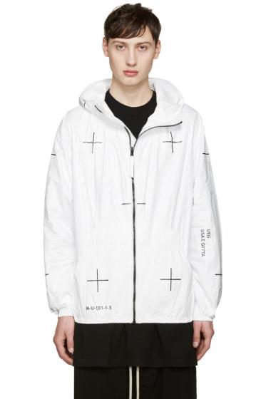 UEG - White 'Machine 1' Jacket