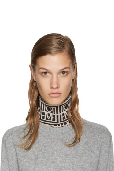Totême - Navy Akita Turtleneck Collar