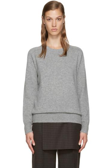 Totême - Grey Cashmere Verona Sweater