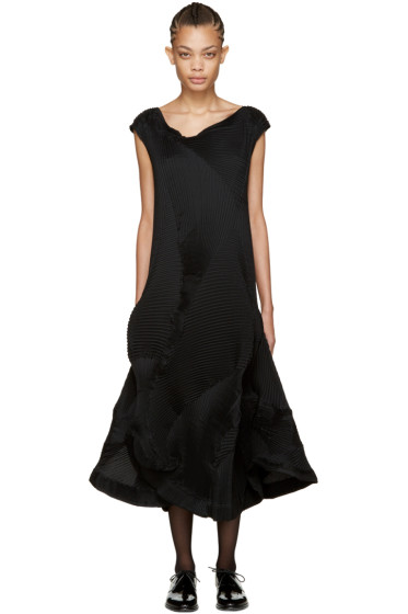 Issey Miyake - Black Corona 2 Dress