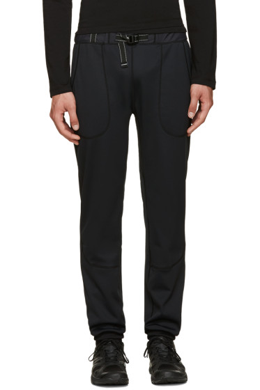 and Wander - Black Belted Lounge Pants
