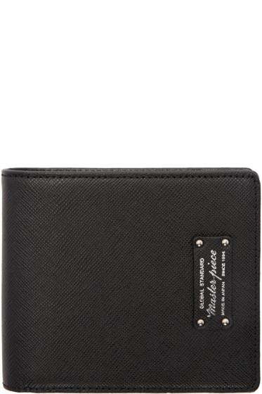 Master-Piece Co - Black Bifold Wallet